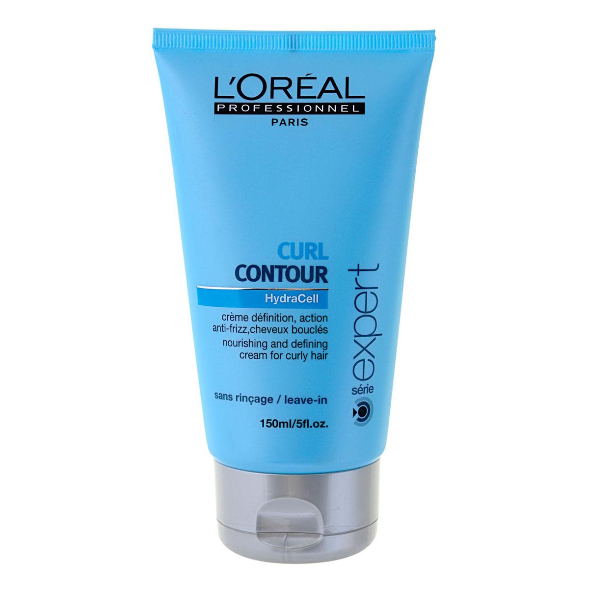 LOreal Professionnel Крем для четкости контура завитка для вьющихся волос Expert Curl Contour - 150 млE0351806Крем Керл Контур интенсивно питает вьющиеся волосы, не утяжеляет их. Он предназначен для придания четкости контура завиткам, обеспечивает волосам здоровый блеск. В основе крема – система Nutripulse. Уникальная формула крема включает в себя микроэмульсионные масла, которые придают волосам ещё больше кудрявости, а также экстракт косточек винограда и «Биомиметический керамид», придающие кудрям упругость. Один из основных компонентов крема – УФ-фильтры, защищающие волосы от вредного ультрафиолетового излучения, способствующие сохранению прочности волос, насыщенного и яркого их цвета.