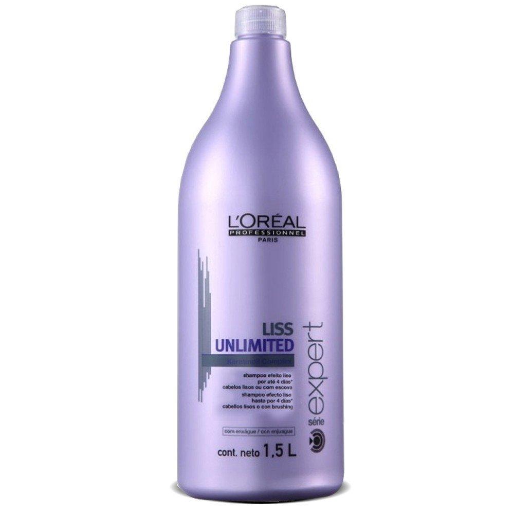 LOreal Professionnel Liss Unlimited – Смываемый уход для непослушных волос 750 млE0535527LOrealProfessionnelLissUnlimitedConditioner Смываемый уход для непослушных волос профессиональное средство для ухода за капризными» волосами, преподносящими сюрпризы в виде завитков при влажной погоде.Благодаря сбалансированному составу кондиционера, обогащенному витаминами, минералами, маслами энотеры и кукуи, волосы после его применения не только мгновенно становятся, гладкими, эластичными и упругими, но и получают комплекс глубокого питания, необходимого для укрепления и интенсивного роста волос.Кондиционер подходит для ежедневного применения, однако после его использования волосы могут оставаться послушными в течение 4-х дней, поэтому им можно пользоваться по мере необходимости. Если стоит солнечная погода и ничего не предвещает дождя, то волосы, ополоснутые кондиционером вчера, или даже позавчера, сохранят естественную красоту и гладкость без дополнительного ухода.В состав кондиционера также входит кератин вещество, необходимое для укрепления и питания корней волос. Кератин значительно сокращает количество выпасаемых волос, придает им жизненные силы и природную красоту.LOreal Professionnel Liss Unlimited Conditioner роскошная прическа каждый день!