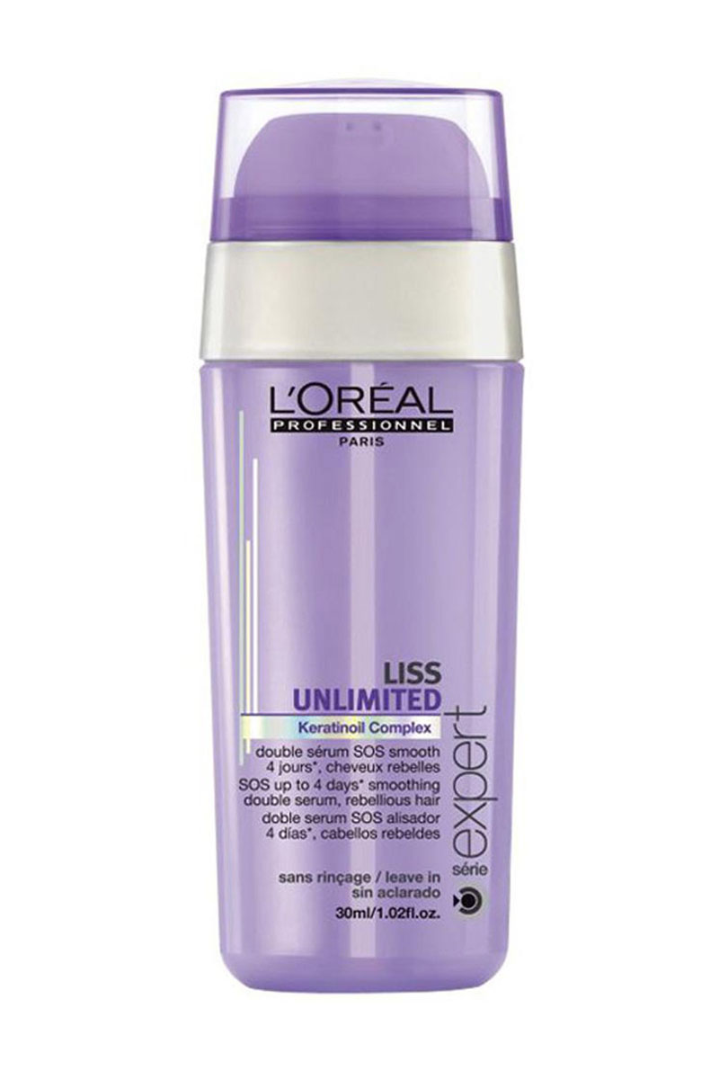 L'Oreal Professionnel Liss Unlimited – SOS-сыворотка двойного действия 30 мл сыворотка coiffance professionnel liss line smoothing serum