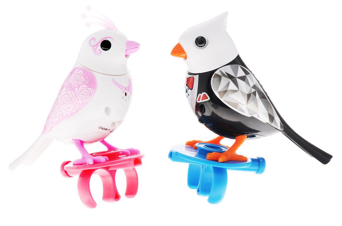 DigiFriends Интерактивная игрушка Птички жених и невеста соколов птички