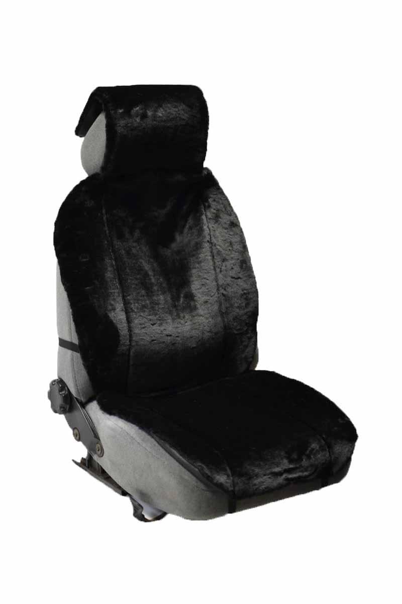 Накидка Auto Premium, на полное сидение, цвет: черный