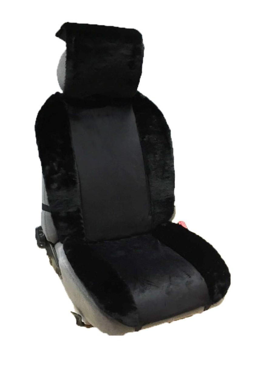 Накидка Auto premium на полное сидение, цвет: черный. 4710547105Меховая накидка обладает высокими теплоизолирующими свойствами. Благодаря этому полностью исчезает дискомфорт при посадке в холодный автомобиль. Накидка создает дополнительную мягкость и комфорт, которые необходимы водителю и пассажирам при дальних поездках. Может использоваться как зимой, так и летом.