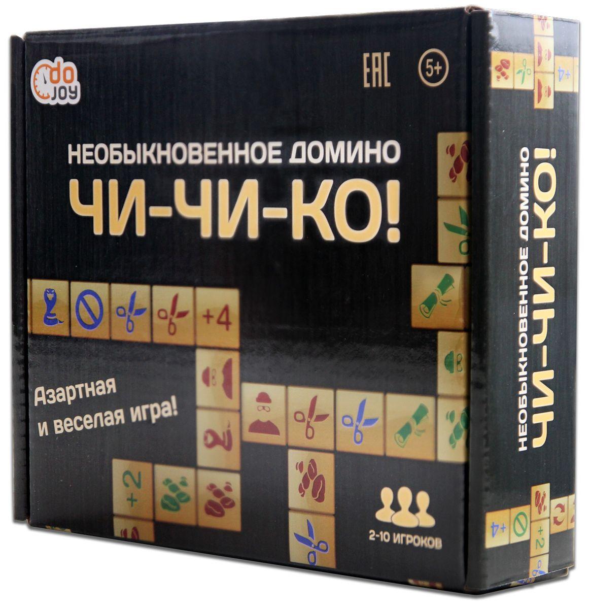 DoJoy Настольная игра Чи-Чи-Ко Необыкновенное Домино