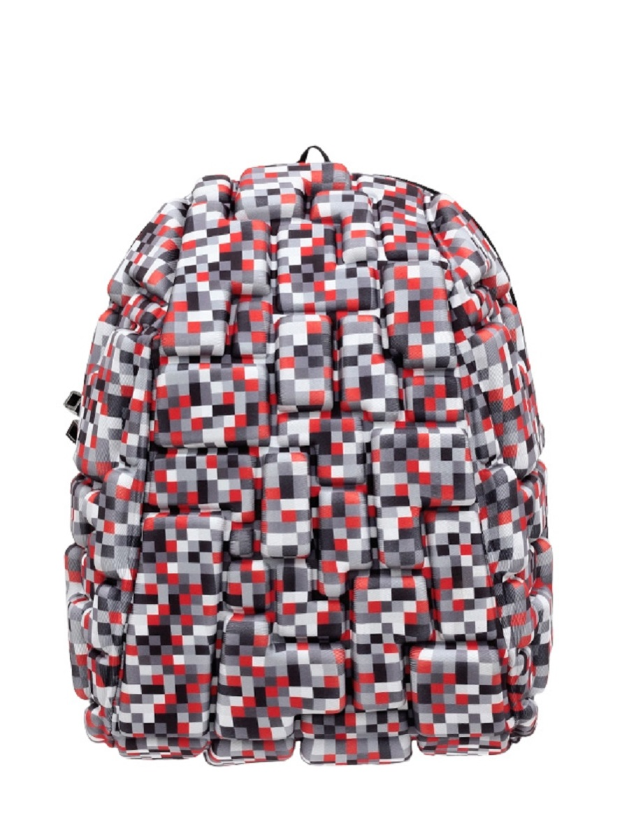 Рюкзак молодежный MadPax Blok Half, 16 лKAA24484213Рюкзак молодежный MadPax Blok Half.Легкий и вместительный рюкзак с одним основным отделением с застежкой на молнии. В основное отделение с легкостью входит ноутбук размером диагонали 13 дюймов, iPad и формат А4. Незаменимый аксессуар как для активного городского жителя, так и для школьников и студентов. Широкие лямки можно регулировать для наиболее удобной посадки, а мягкая ортопедическая спинка делает ношение наиболее удобным и комфортным.Объем: 16 л.