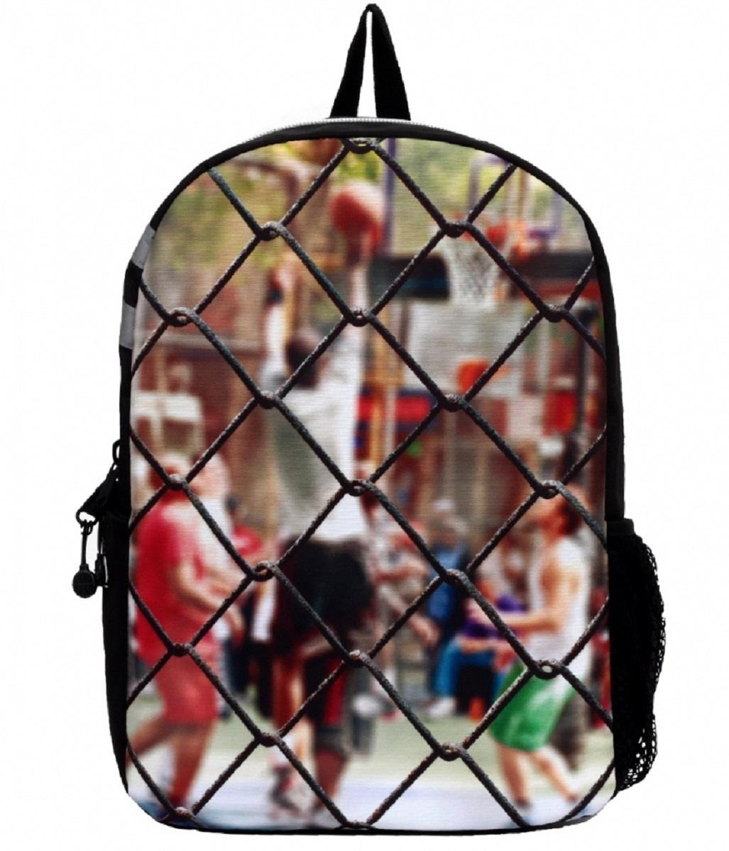 Рюкзак молодежный Mojo Sport Сетка, 20 лKAA9984571Этот стильный рюкзак от Mojo Sport Сетка прекрасно сочетает в себе черты спорта и динамичного городского стиля. Расцветка и внешний вид рюкзака в виде сетки ворот и игроков за этой сеткой смотрится очень броско, стильно и оригинально.
