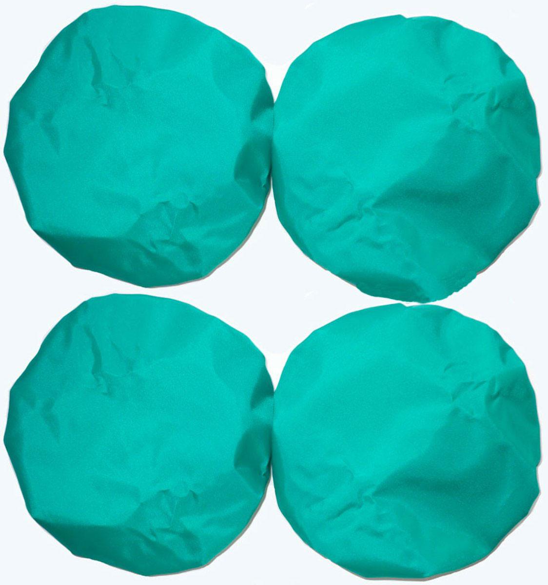 Чудо-Чадо Чехлы на колеса для коляски диаметр 28-38 см цвет зеленый 4 шт -  Коляски и аксессуары