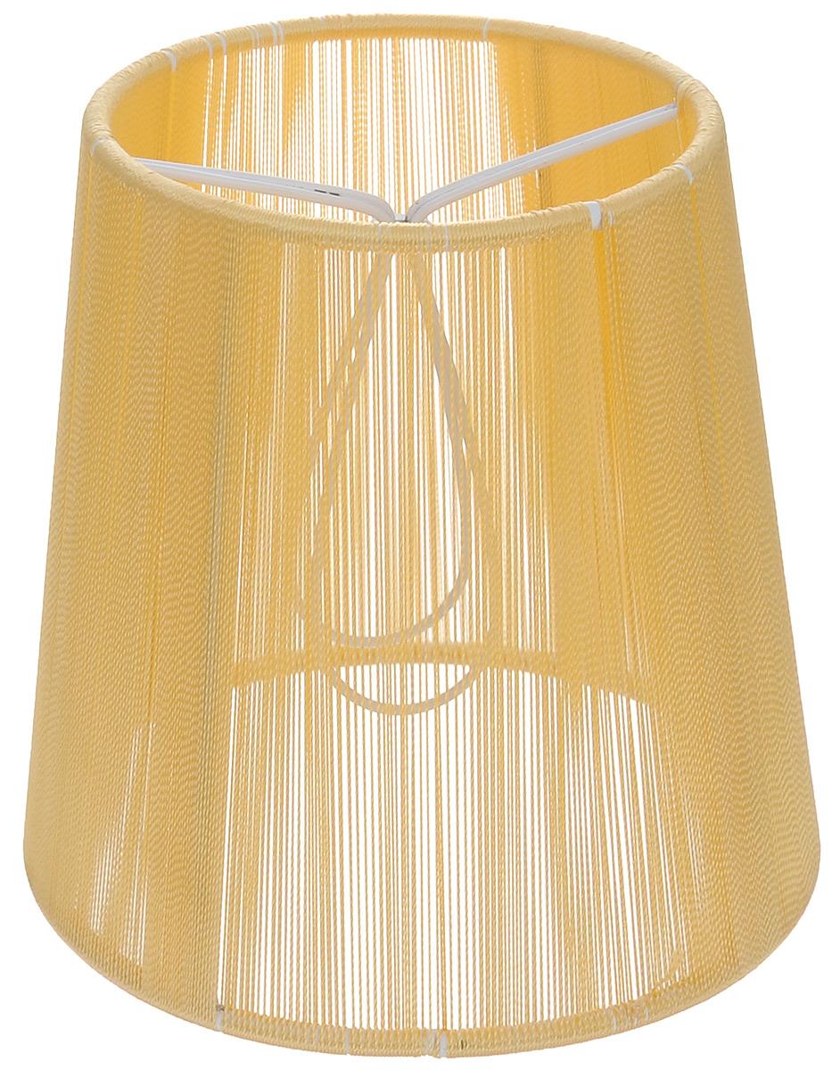 """Стильный абажур на лампу Vitaluce """"Астро"""", выполненный из металла и шелковых нитей, украсит ваш дом и защитит от яркого света лампы.Диаметр абажура (по верхнему краю): 9 см. Диаметр абажура (по нижнему краю): 12 см. Высота абажура: 12 см."""