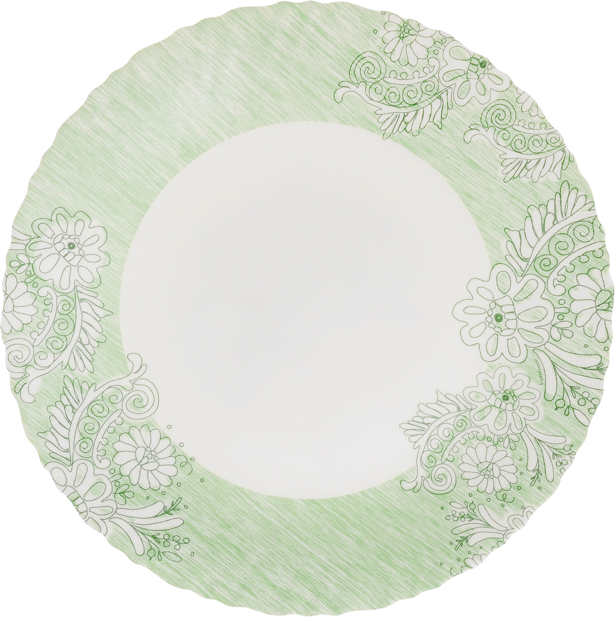Тарелка обеденная Luminarc Minelly Green, 25 смJ7031Обеденная тарелка Luminarc Minelly Green, изготовленная из высококачественного стекла,имеет изысканный внешний вид. Яркий дизайн придется по вкусу и ценителям классики,и тем, кто предпочитает утонченность. Тарелка Luminarc Minelly Green идеально подойдет для сервировкистола и станет отличным подарком к любому празднику.Диаметр (по верхнему краю): 25 см.Высота тарелки: 2 см.