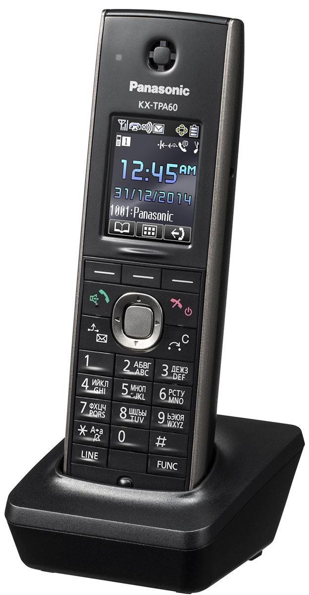 Panasonic KX-TPA60, Black дополнительная трубка для DECT-телефона