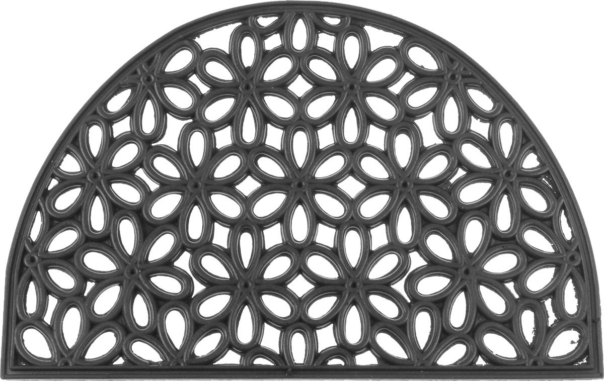 Коврик придверный SunStep Лепестки, 60 х 40 см коврик домашний sunstep цвет кремовый 60 х 110 х 4 см