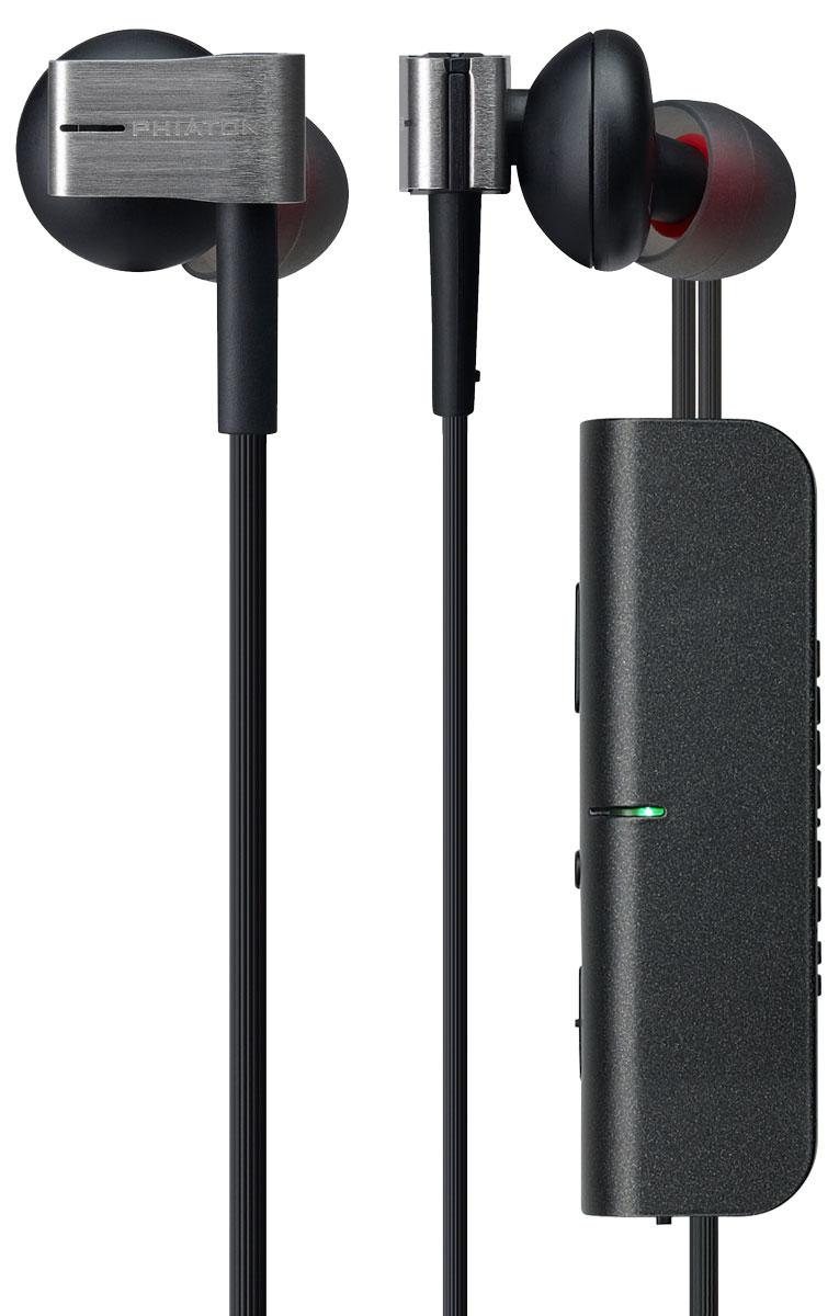 Phiaton PS202NC, Black наушники-вкладыши (PPU-NE0202BK01)PPU-NE0202BK01Наушники Phiaton PS 202 NC обеспечивают беспрецедентное качество звука, с более широким диапазоном частот и более реалистичным музыкальным присутствием. Для предоставления слушателям богатого, плотного и ещё более мощного баса, они сделаны по уникальной технологии, двухкамерной конструкции MaxBass Reflex, что практически исключает нежелательную вибрацию и эхо. Пользователи смогут насладиться тщательно сбалансированными низкими и высокими частот, непревзойдённым качеством звука всех жанров музыки, от джаза и классики до рока и хип-хопа.Благодаря встроенному Bluetooth-контролю вы можете легко отвечать на телефонные звонки, не снимая наушники, а со специальной функцией шумоподавления фоновый шум при разговоре практически исключён. Кроме того, с новейшей версией Bluetooth 3.0 вы получите наслаждение от улучшенного качества звука, увеличенного времени автономной работы и более широкого звукового диапазона. Для дополнительной простоты и удобства эти наушники позволяют использовать их с проводом. Можно подключить их кабелем к любому аудиоустройству, если устройство не имеет функцию Bluetooth.