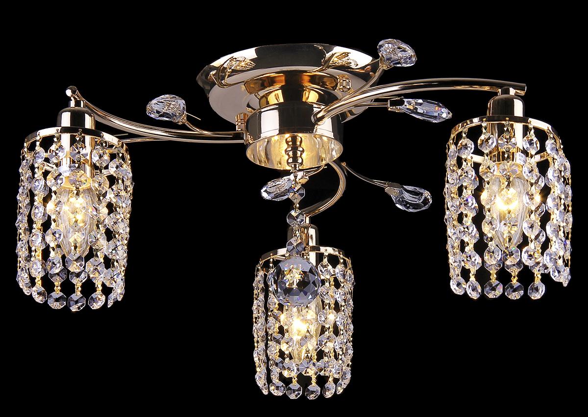Люстра Natali Kovaltseva, 3 x E14, 60W. 10722/3C10722/3C FRENCHЛюстра Natali Kovaltseva, выполненная в классическом стиле, станет украшением вашей комнаты и изысканно дополнит интерьер. Изделие крепится к потолку. Такая люстра отлично подойдет для освещения кабинета, столовой, спальни или гостиной. Люстра выполнена из металла с покрытием под золото и снабжена 3 цоколями, декорированными подвесками из кристаллов. В коллекциях Natali Kovaltseva представлены разные стили - от классики до хайтека. Дизайн и технологическая составляющая продукции разрабатывается в R&D центре компании, который находится в г. Дюссельдорф, Германия. При производстве продукции используются высококачественные и эксклюзивные материалы: хрусталь ASFOR, муранское стекло, перламутр, 24-каратное золото, бронза. Производство светильников соответствует стандарту системы менеджмента качества ISO 9001-2000. На всю продукцию ТМ Natali Kovaltseva распространяется гарантия.