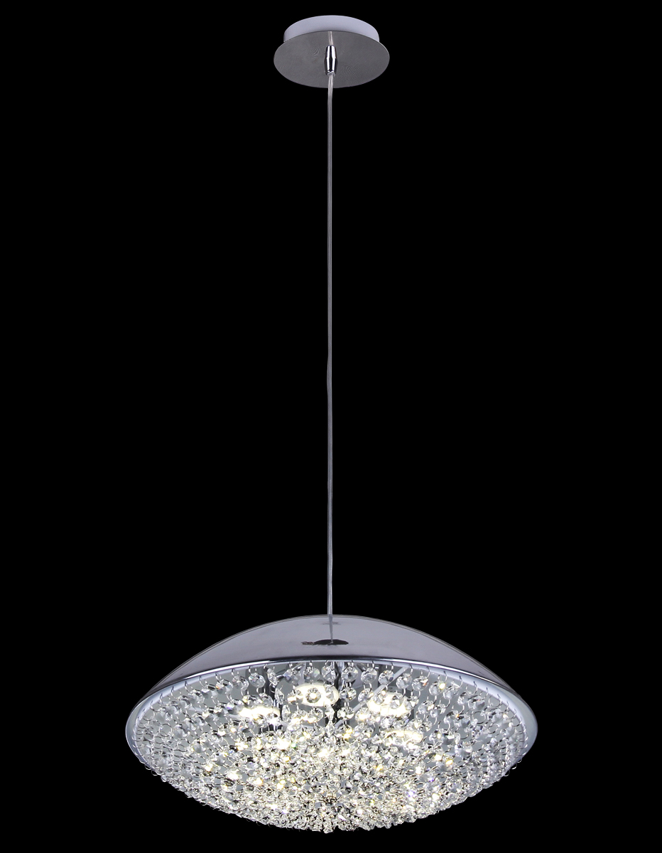 Подвес Natali Kovaltseva 11304/6P CHROME, G9 LED11304/6P CHROME, G9 LEDD37 x H75 cm