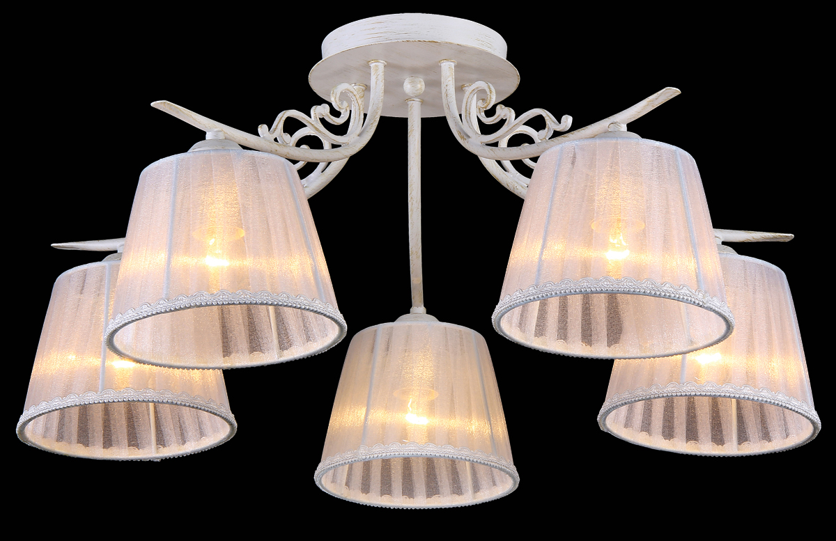 Люстра Natali Kovaltseva  Firenze , 5 x E27, 40W. 11422/5C - Светильники