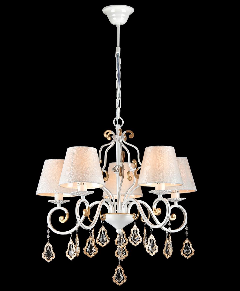 Люстра Natali Kovaltseva Grace 10427/5C WHITE GOLD светильник natali kovaltseva heart 118 5c