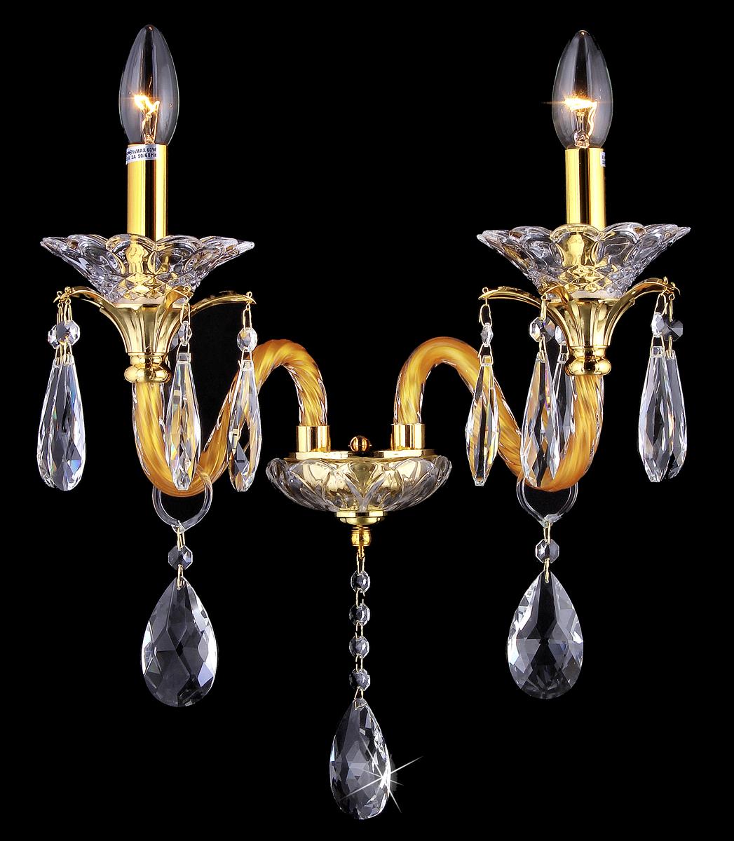 Бра Natali Kovaltseva Tivoli 10653/2W GOLD, CLEARTivoli 10653/2W GOLD, CLEARD32 x H35 cm