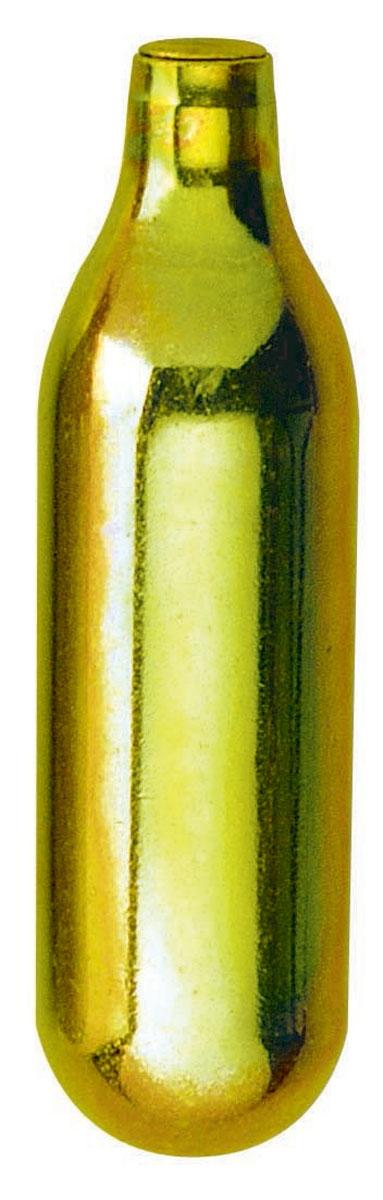 """Баллончики """"Mosa""""изготовлены из высококачественной анодированной стали.Каждый одноразовый баллончик содержит пищевой углекислый газ (CO2).Используемый вместе с сода сифоном, данный пищевой газ позволит вам легко и быстро приготовить газированную воду."""