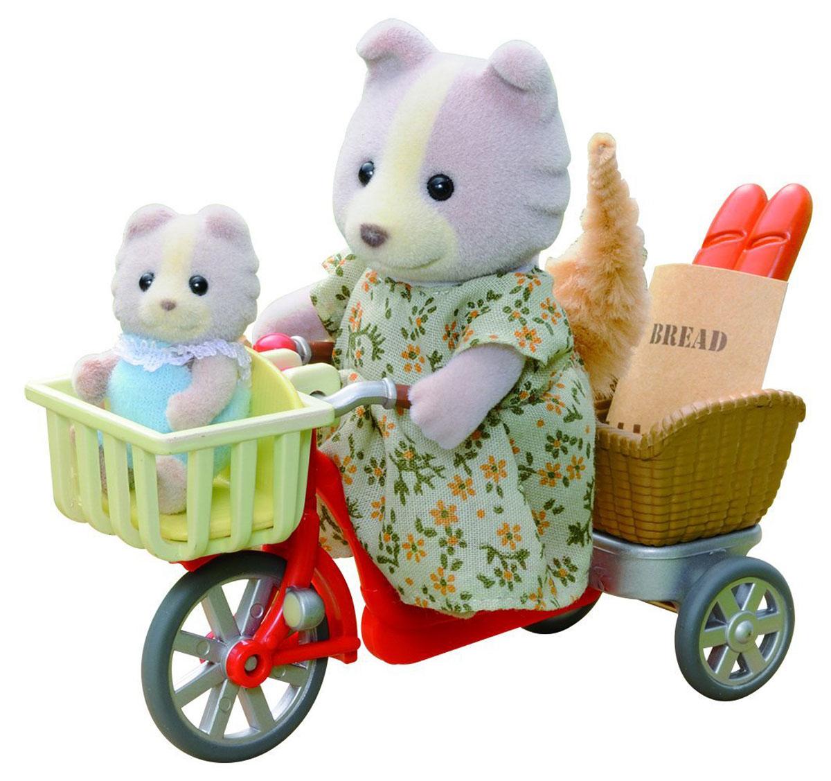 Sylvanian Families Набор фигурок Велосипедная прогулка игрушка sylvanian families велосипедная прогулка 2236