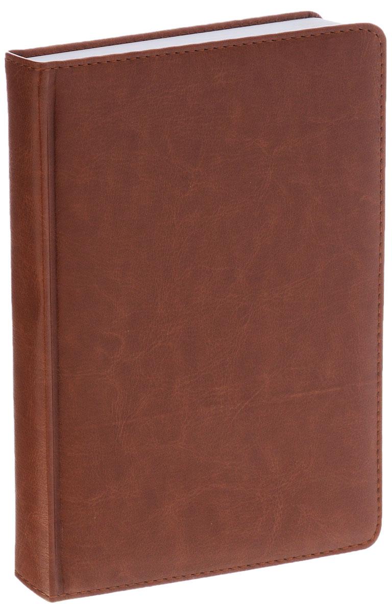 Index Ежедневник Nature недатированный 168 листов цвет коричневыйIDN006/A5/BRНедатированный ежедневник Index Nature - это один из удобных способов систематизации всех предстоящих событий и незаменимый помощник для каждого. Обложка выполнена из высококачественной искусственной кожи с прострочкой по периметру и тиснением. Внутренний блок на 336 страниц выполнен из белой офсетной бумаги с закругленными отрывными уголками. Ежедневник содержит страницу для заполнения личных данных, календарь с 2014 по 2017 год, справочно-информационный блок, телефонно-адресную книгу, а также ляссе для быстрого поиска нужной страницы. Все планы и записи всегда будут у вас перед глазами, что позволит легко ориентироваться в графике дел, событий и встреч.