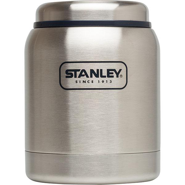 Термос для еды STANLEY Adventure Food, цвет: стальной, 410 мл10-01610-007Термос STANLEY Adventure Food с широким горлом отлично подойдет для первых и вторых блюд. Корпус и внутренняя колба выполнены из нержавеющей стали.Термос полностью герметичен, у него вакуумная изоляция. Он удерживает тепло - 8 часов, холод - 8 часов. Термос STANLEY Adventure Food - незаменимая вещь в путешествиях, походах и на рыбалке.