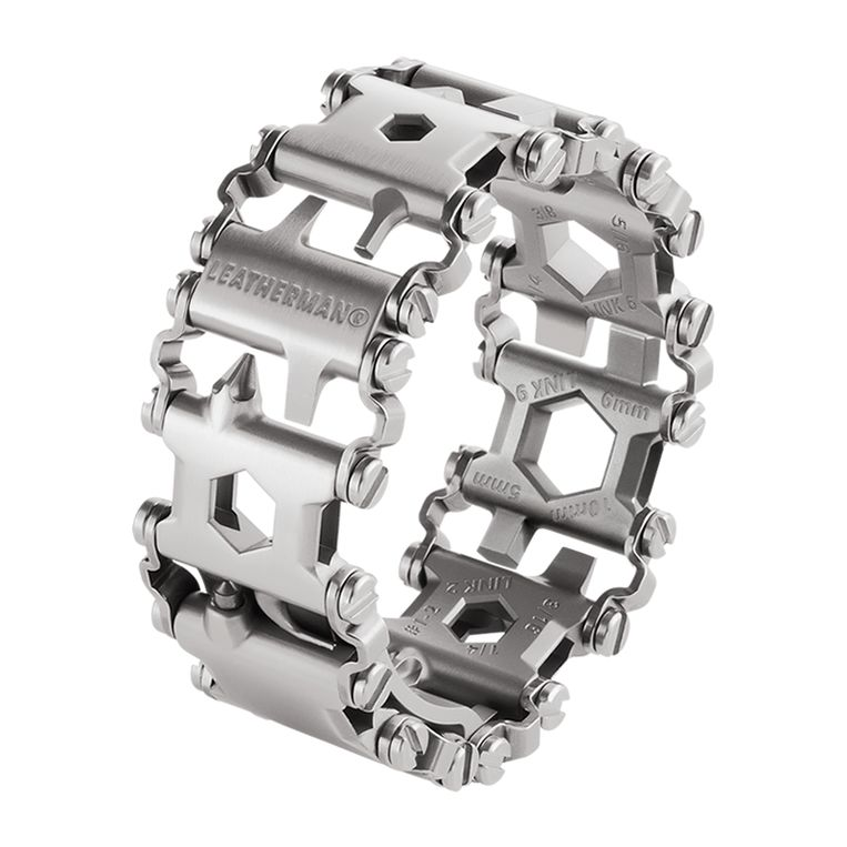 Браслет Leatherman Tread Metric, цвет: металлик, 29 функций
