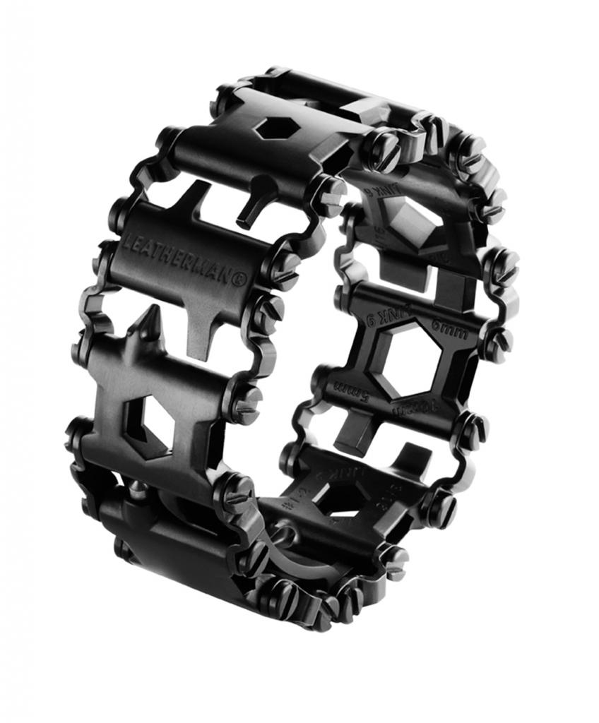 Браслет Leatherman Tread, цвет: черный, 29 функций