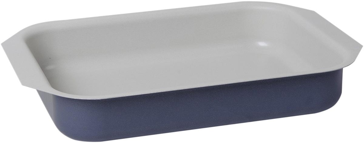Противень Vari Flora цвет: фиалковый, 25 х 19 смV21250Яркая, стильная коллекция посуды Flora, привнесет отличное настроение в порой обыденный процесс приготовления блюд. Модное внешнее покрытие обладает высокой жаропрочностью, экологически чистое, легко очищается, долго сохраняет свой цвет. Удобные ручки подобраны точно под цвет корпуса, изготовлены из прочного бакелитового сплава, который не нагревается, оберегает руки от ожогов. Внутреннее антипригарное покрытие цвета слоновой кости имеет идеально гладкую поверхность с формулой двойной защиты от пригорания. На покрытии светлого цвета гораздо легче контролировать процесс жарки любимых блюд.