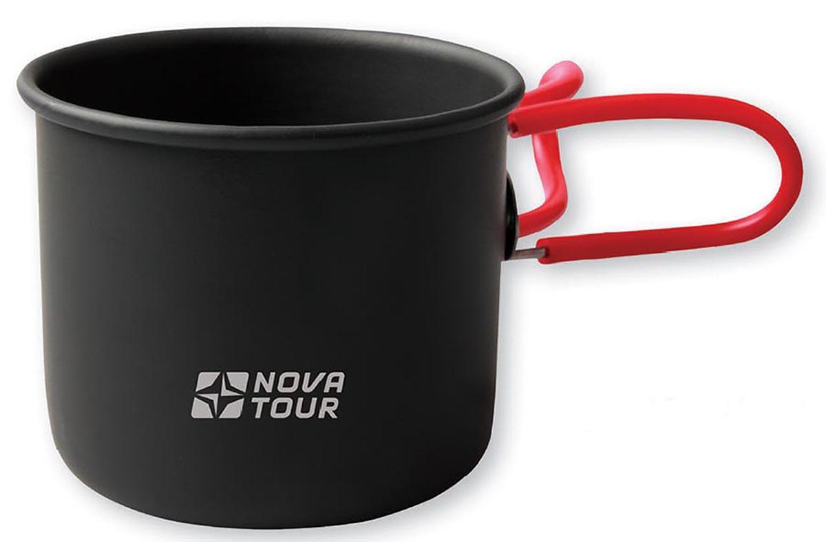 Кружка NOVA TOUR со складными ручками, цвет: черный, красный, 400 мл95811-000-00Легкая и компактная походная кружка NOVA TOUR изготовлена из анодированного алюминия. Благодаря своей конструкции со складывающимися ручками, изделие занимает минимум места при транспортировке. Кружка NOVA TOUR - это идеальный вариант для походов и отдыха на природе. Отличается особой легкостью и компактностью, поэтому ее без проблем можно поместить в рюкзак.