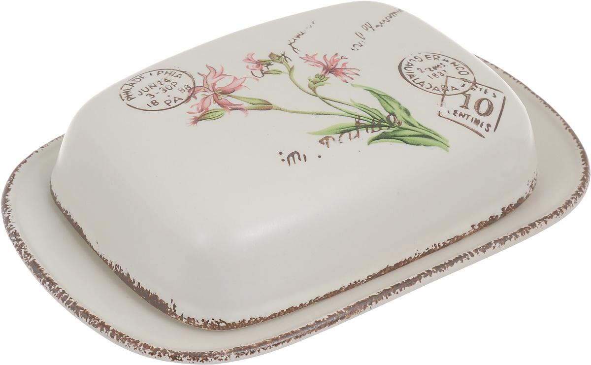 Масленка LF Ceramic ВоспоминанияLF-185F3794-ALВеликолепная масленка LF Ceramic Воспоминания, выполненная из высококачественной керамики, предназначена для красивой сервировки и хранения масла. Она состоит из подноса и крышки. Масло в ней долго остается свежим, а при хранении в холодильнике не впитывает посторонние запахи. Масленка LF Ceramic Воспоминания идеально подойдет для сервировки стола и станет отличным подарком к любому празднику.Размер подноса: 19 х 13 х 2 см.Размер крышки: 14,5 х 10,5 х 4 см.