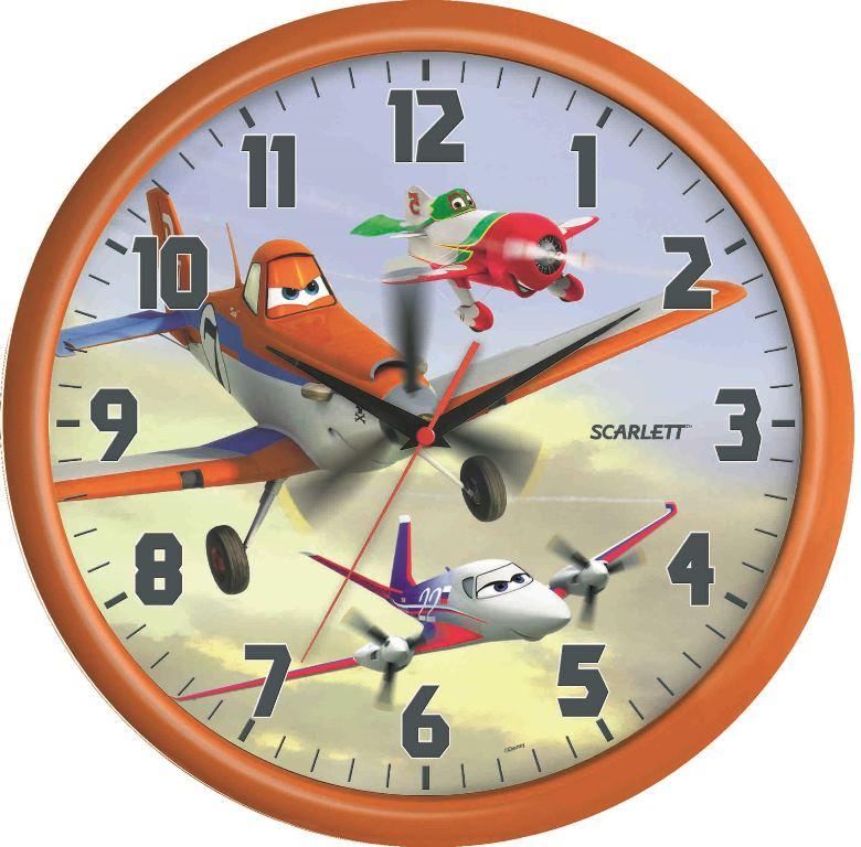 Часы настенные Scarlett, диаметр 29 см. SC - WCD06PLSC - WCD06PLНастенные кварцевые часы Scarlett , изготовленные изпластика, прекрасно впишутся в интерьер вашего дома.Круглые часы имеют три стрелки: часовую, минутную исекундную, циферблат защищен прозрачным пластиком.Часы работают от 1 батарейки типа АА напряжением 1,5 В(батарейка в комплект не входит). Диаметр часов: 29 см.
