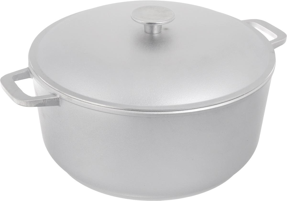 Кастрюля Биол с крышкой, 7 л кастрюли биол набор посуды 260 3 кастрюля 5 л и сковорода 26 см со стекл крышкой биол