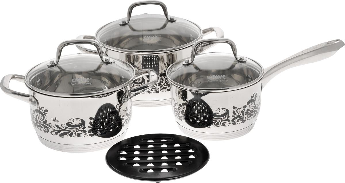 Набор посуды Calve, 7 предметов. CL-1879