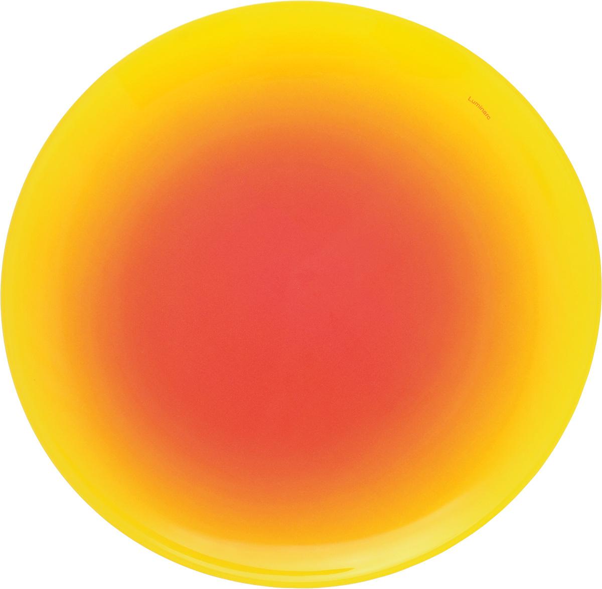 Тарелка десертная Luminarc Fizz Lemon, диаметр 20 смG9551Десертная тарелка Luminarc Fizz Lemon, изготовленная изударопрочного стекла, декорирована градиентным рисунком. Такая тарелка прекрасно подходит как дляторжественных случаев, так и для повседневногоиспользования. Идеальна для подачи десертов, пирожных, тортов имногого другого. Она прекрасно оформит стол и станетотличным дополнением к вашей коллекции кухоннойпосуды. Диаметр тарелки: 20 см. Высота тарелки: 1,5 см.