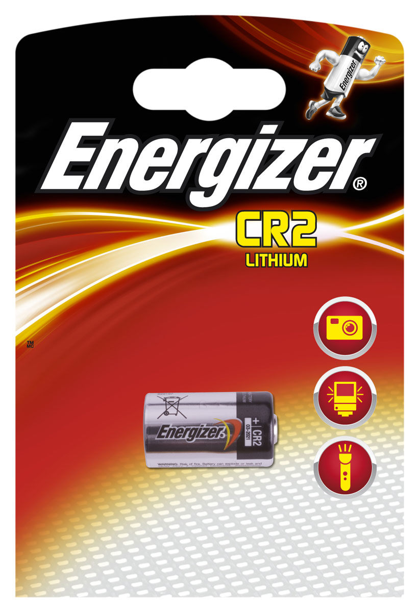 Батарейка Energizer Lithium Speciality Photo, тип CR2, 3V