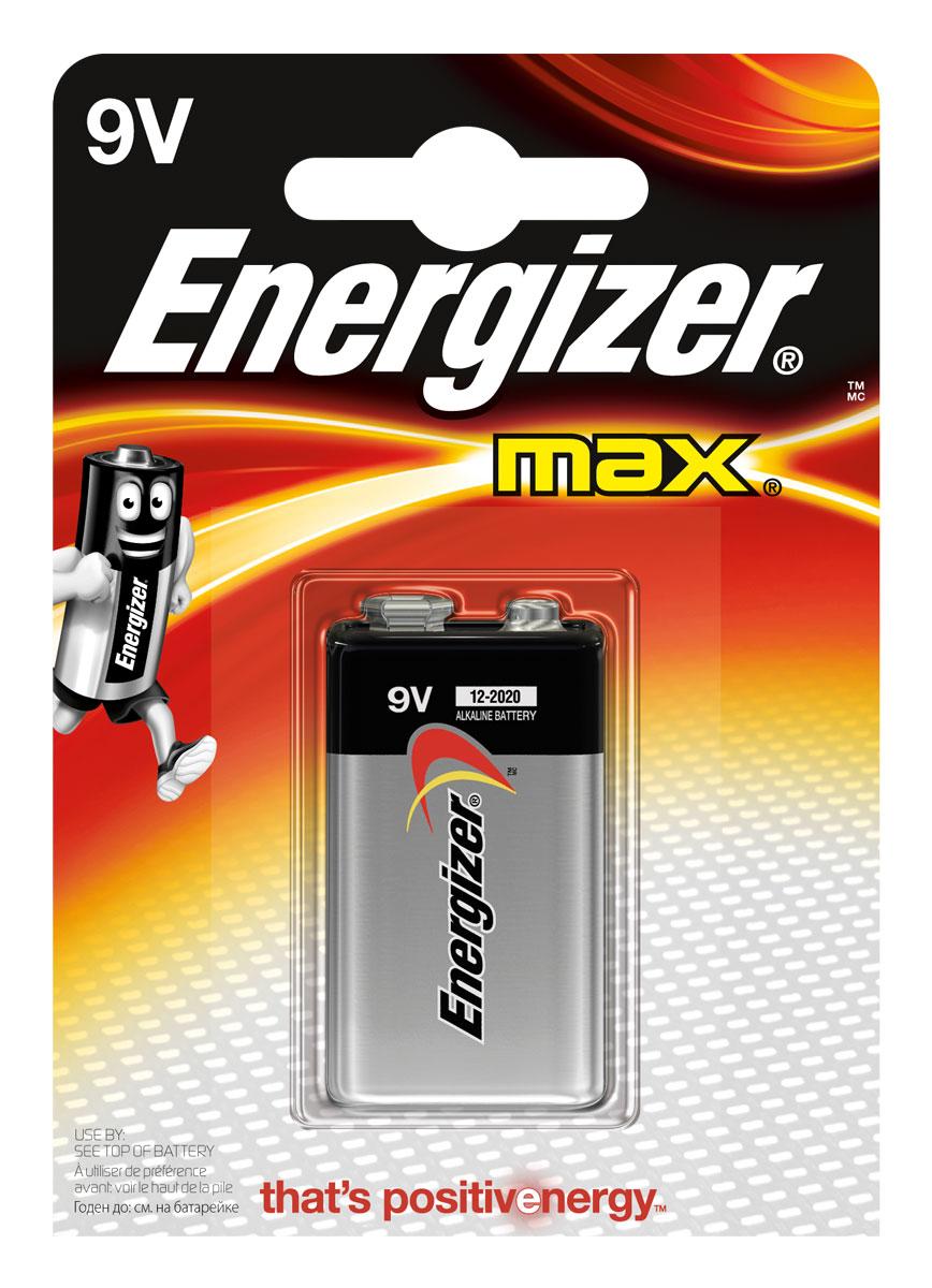 Батарейка Energizer Max, тип 9V/6LR61 357a батарейка
