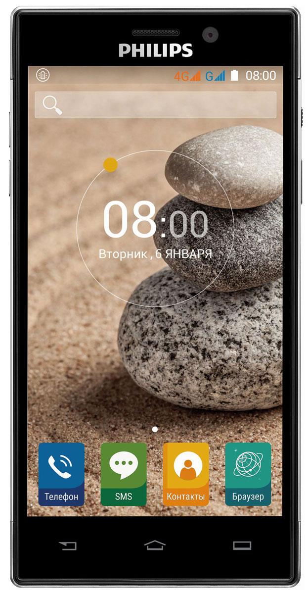 Philips Xenium V787, Black8712581736347Смартфон Philips Xenium V787 3-го поколения отличается долгим сроком работы в режиме ожидания. Устройство оснащено технологией SoftBlue, которая защищает зрение и обеспечивает превосходное яркое изображение, и 5-дюймовым экраном Full HD. Всегда оставайтесь на связи с родными и близкими.Кнопка режима энергосбережения может оказаться для вас одной из самых полезных функций. Нажав на кнопку на боковой панели, вы включаете функцию, которая позволяет сэкономить заряд аккумулятора. В этом режиме отключаются Wi-Fi, GPS и Bluetooth и понижается яркость экрана. Если вы активно пользуетесь телефоном, эта удобная кнопка не только поможет избежать излишних действий для выбора настроек, как это бывает на других телефонах, но и позволит значительно увеличить длительность работы телефона до следующей зарядки.Смартфон оснащен литий-ионным аккумулятором емкостью 5000 мАч, заряда которого хватит на долгие часы работы. Вам больше не придется беспокоиться о пропущенных деловых или личных вызовах. А когда все дела будут выполнены, вы сможете просмотреть веб-страницы в сети Интернет или насладиться любимой игрой — и все это без дополнительной подзарядки благодаря лучшей в своем классе энерготехнологии.Philips V787 поддерживает двойной режим для радиотехнологии 4G, что обеспечивает высокоскоростную передачу данных в сетях FDD-LTE и TD-LTE. Более широкий охват сети LTE — больше возможностей вашего телефона.Данная модель оснащена великолепным экраном высокого разрешения с диагональю 5. Он гарантирует действительно яркие цвета и четкие детали. Технология IPS гарантирует отличную видимость с любого угла обзора, насыщенность и превосходное качество изображения. Специальная технология снижает уровень вредного излучения в синем спектре и защищает зрение без ущерба качеству изображения и цветопередачи.Камера 13 Мпикс с фазовым автофокусом обеспечивает невероятно четкие снимки даже при низком уровне освещенности или в режиме макросъемки. По сравнению с обычны