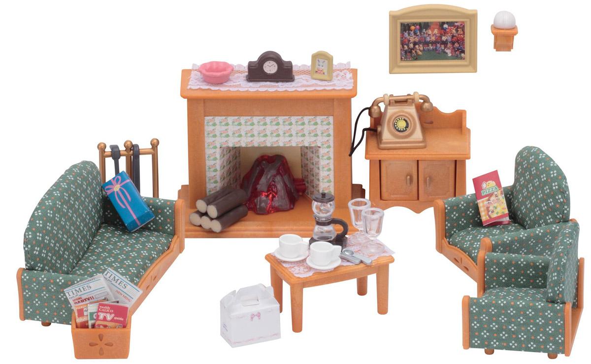 Фото Sylvanian Families Игровой набор Гостиная Deluxe. Покупайте с доставкой по России