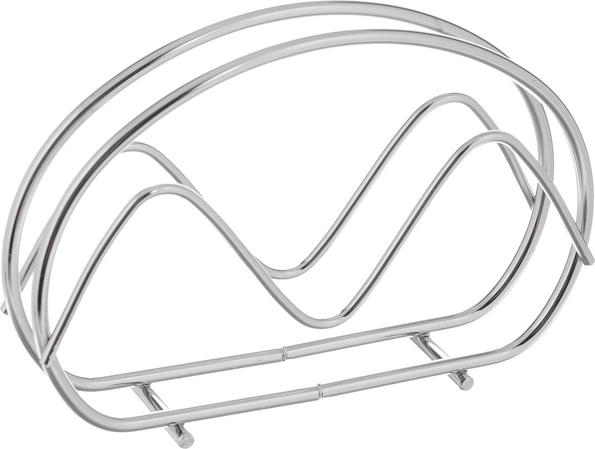 Салфетница Calve. CL-4070CL-4070Салфетница Calve изготовлена из высококачественной нержавеющей стали 18/10. Эксклюзивный дизайн, эстетичность и функциональность сделают ее красивым дополнением сервировки стола и полезным приобретением для вашей кухни. Изделие можно мыть в посудомоечной машине.