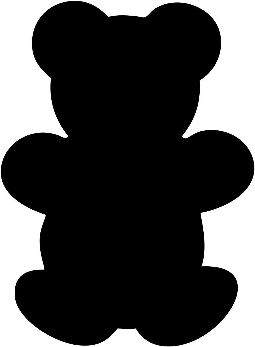 """Меловая доска для сообщений Securit """"Медведь"""" + маркер в комплекте"""