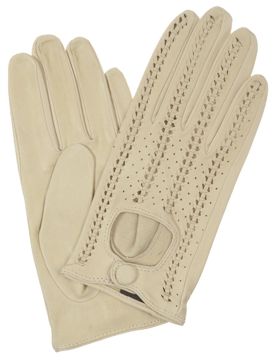 Перчатки женские Eleganzza, цвет: бежевый. IS783. Размер 7,5
