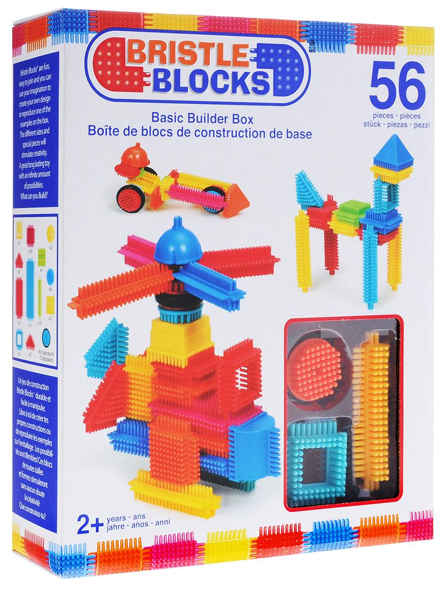 Bristle Blocks Конструктор игольчатый 56 деталей аппликатор кузнецова игольчатый