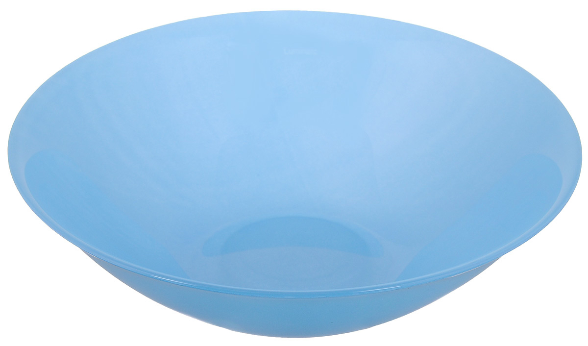 Миска Luminarc Arty Azur, цвет: голубой, диаметр 16,5 см салатник luminarc arty orange диаметр 27 см