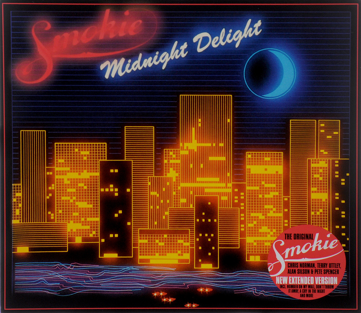Smokie Smokie. Midnight Delight. New Extended Version cd smokie the other side of the road new extended version
