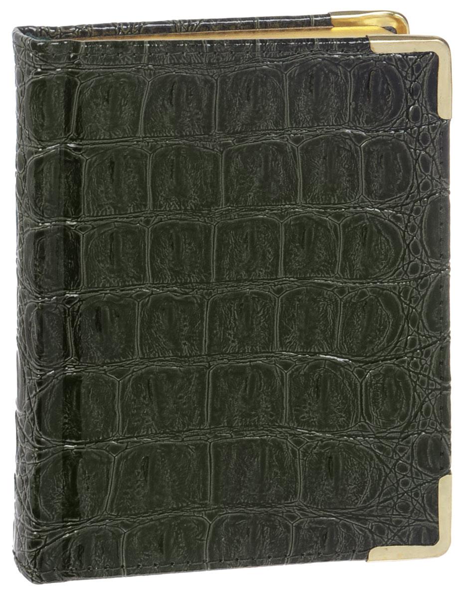 Listoff Записная книжка Croco 96 листов в клеткуКЗК6961668Записная книжка Listoff Croco - незаменимый атрибут современного человека, необходимый для рабочих и повседневных записей в офисе и дома. Записная книжка содержит 96 листов формата А6 в клетку. Обложка выполнена из искусственной кожи с имитацией под крокодиловую и прошита по периметру нитками. Металлические скругленные углы защищают обложку при активном использовании. Внутренний блок изготовлен из высококачественной плотной состаренной бумаги с золотым обрезом, что гарантирует чистоту записей и отсутствие клякс. Атласное ляссе поможет быстро найти нужную страницу.Записная книжка Listoff Croco станет достойным аксессуаром среди ваших канцелярских принадлежностей. Она подойдет как для деловых людей, так и для любителей записывать свои мысли, рисовать скетчи, делать наброски.