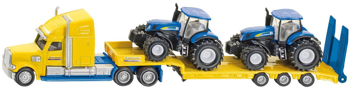 Siku Тягач с тракторами New Holland maggigroup trak 208 петербург
