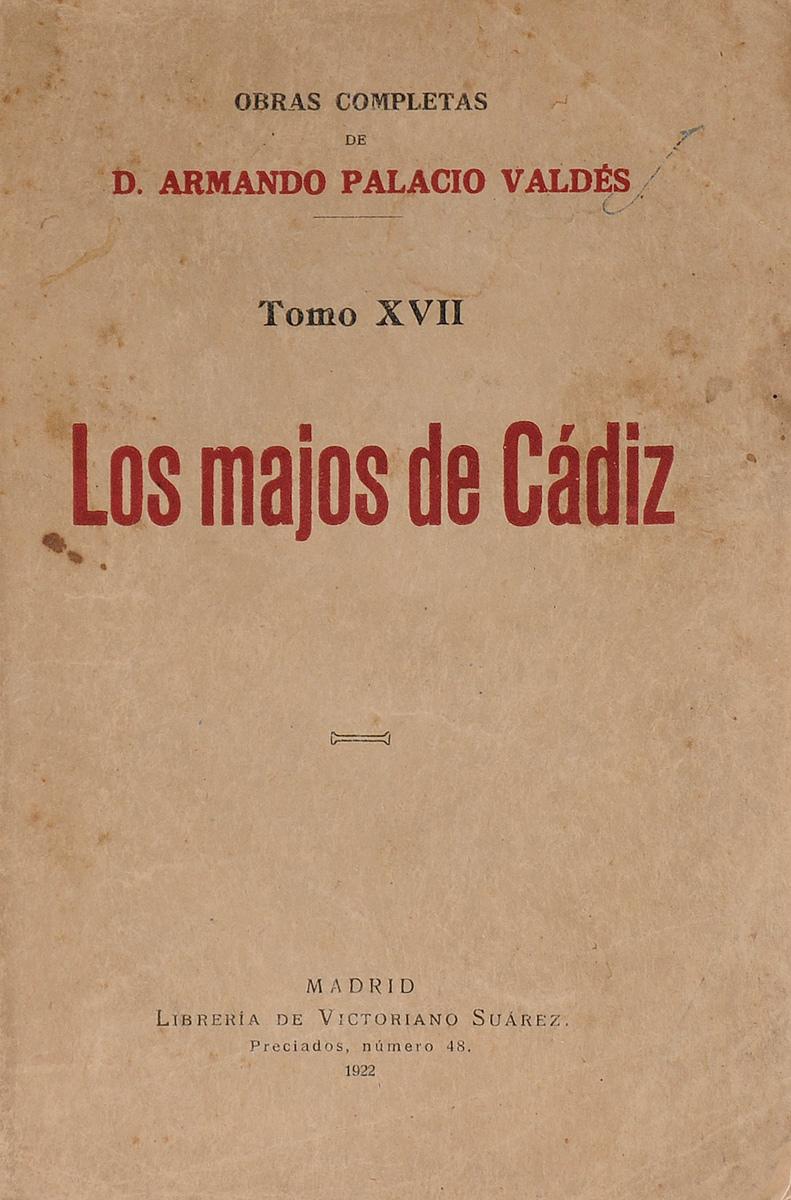 Los Majos de Cadiz. Tomo 17 fodor s fodor los cabos