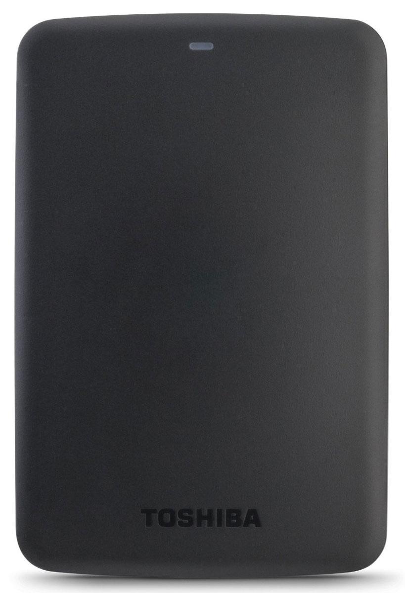 Toshiba Canvio Basics 1TB, Black внешний жесткий диск (HDTB310EK3AA) - Носители информации