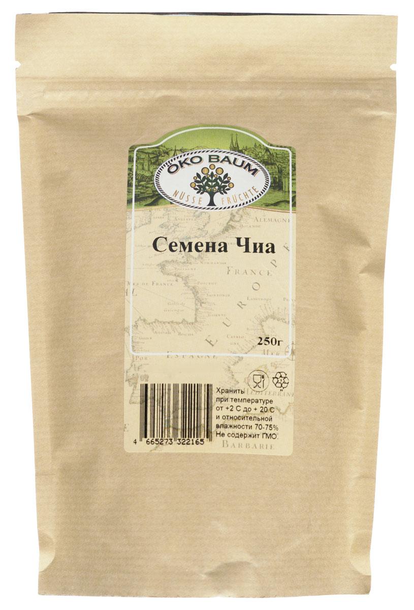 Oko Baum семена Чиа, 250 г4665273322165Семена Чиа известны в Южной Америке много веков. С давних времен они находились в основе питания племен Мая и ацтеков. Сегодня слава семян Чиа дошла и до россиян. Обладая многочисленными полезными свойствами и высокой питательной ценностью, этот продукт очень универсален. Семя Чиа можно добавлять в напитки, во вторые и первые блюда, использовать в выпечке или при создании десертов. Семя Чиа не содержит клейковину, поэтому может быть использовано в рационе больных сахарным диабетом. Уже в самом названии семян Чиа содержится указание на их уникальные свойства. Слово chia подразумевает силу и указывает на тонизирующее и укрепляющее действие семян. Зерна Чиа имеют уникальный состав, который сложно воспроизвести искусственно. Зерна Чиа богаты омега-3 жирными кислотами. Особенно преобладает (около 60%) альфа-линоленовя кислота. Ни в одном другом здоровом продукте питания нет такого высокого содержания этой необходимой для человека кислоты.
