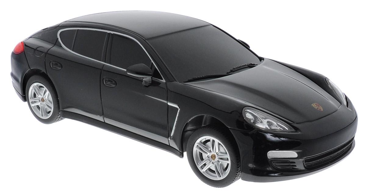 Rastar Радиоуправляемая модель Porsche Panamera цвет черный масштаб 1:24