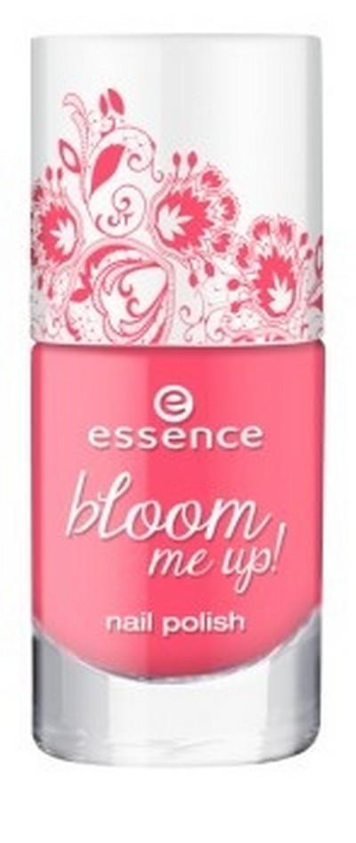 Essence Лак для ногтей Bloom me up! т.0477958Яркие, свежие цвета этих новых лаков с динамичным жемчужным эффектом - как раз то, что нужно для того, чтобы заявить о себе этой весной на все 100%!